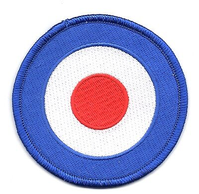 target raf raaf badge rounded round PATCH BADGE IRON ON NEW EMBROIDERED
