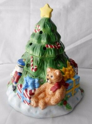 Ceramic Christmas Tree Candle Warmer