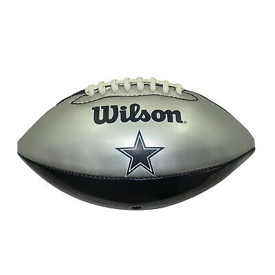 *stadium Sports* - Wilson Nfl Dallas Cowboys Sil/navy Football
