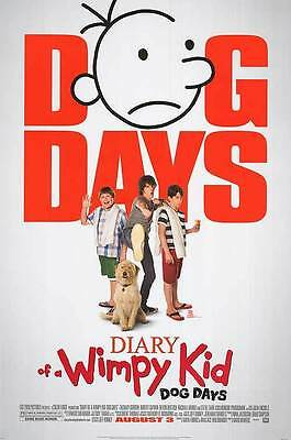 Diary of Wimpy Kid Dog Days Reg Double Sided Original Movie Poster 27x40 inches