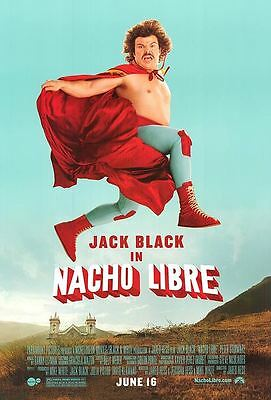Nacho Libre Advance Version A Original Movie Poster Single Sided 27x40 inches