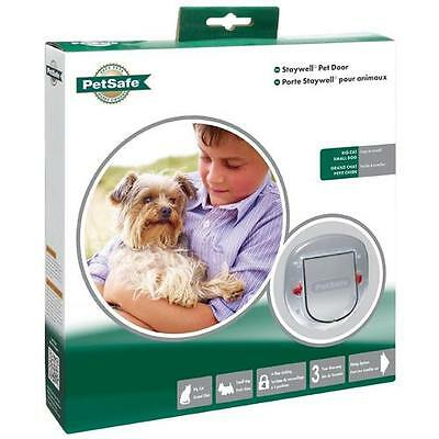 PetSafe Staywell Big Cat / Small Dog chatière 4 Way Verrouillage givré Plasctic