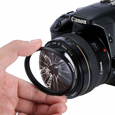 52MM Must Have Lens Filter Accessory Kit For Canon Nikon UD#15