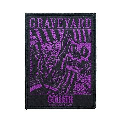 """""""Graveyard Goliath"""" Lights Out Album Song Art Rock Band Sew On Applique Patch"""
