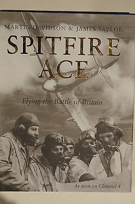 WW2 British RAF Spitfire Ace Flying The Battle Of Britain Reference Book