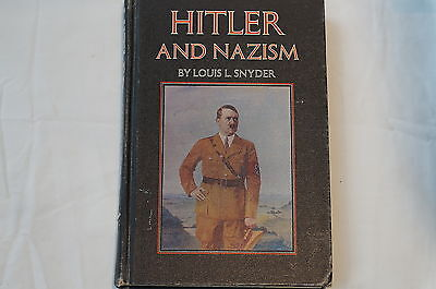 WW2 German Hitler and Nazism Reference Book