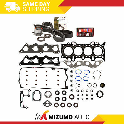Fit Head Gasket Set Timing Belt Kit 01-05 Honda Civic DX LX 1.7L SOHC D17A1