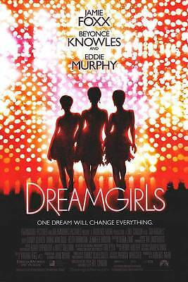 Dreamgirls Version B Double Sided Original Movie Poster 27x40 inches