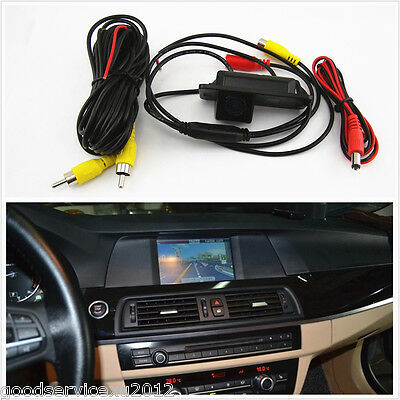 12V 170°Angle CCD Automobile Rearview Reverse Camera Kit For BMW 1/3/5 X3 X5 X6