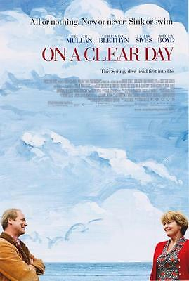On A Clear Day Double Sided Original Movie Poster 27x40 inches