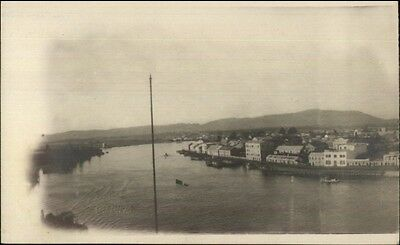Valdivia Chile c1910 Real Photo Postcard