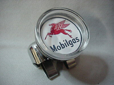 Mobil Steering Wheel Suicide Spinner Brodie Knob Hot Rod Classic