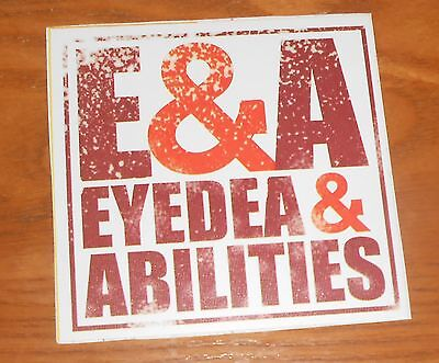 E&A Eyedea & Abilities Sticker Promo 4.5x4.5 Rhymesayers Atmosphere