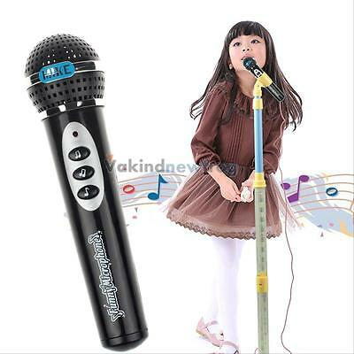 Lovely Microphone Toy Mic Karaoke Singing Children Funny Musical Toy Xmas Gift