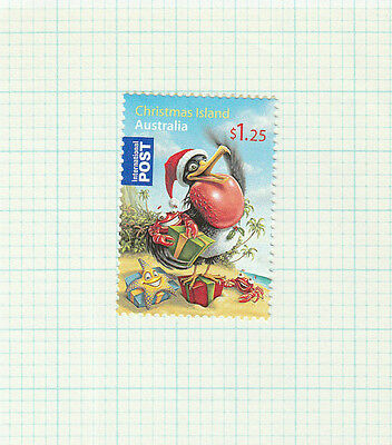 2009 Christmas Island Australia, SG 659, Christmas International Post Stamp