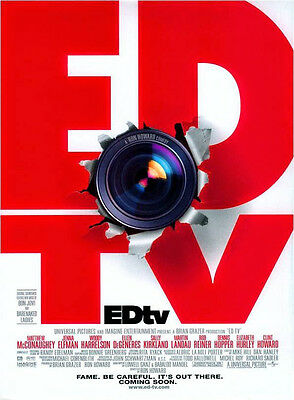 EdTV Advance Single Sided Original Movie Poster 27x40  inches