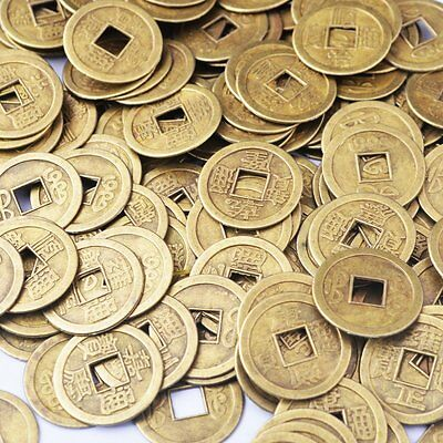 """50pcs Feng Shui I-ching Coins Fortune Coin Dia:20mm (0.8"""")"""