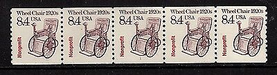 #2256 Wheelchair precancel PNC5  Pl#1 - MNH