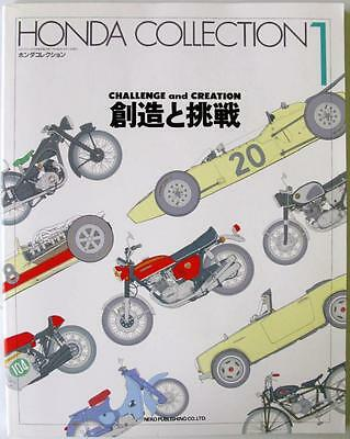 Honda Collection 1 Challenge And Creation Honda Motor Co. Cars Motorcycles