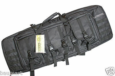 "Valken Tactical 36/42/46"" Double Rifle Guncase Paintball PaintNoMore"