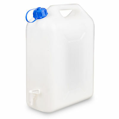 1/5/10 10L Plastic Container Jerry Can Water Carrier Drum Pouring Spout Tap NEW