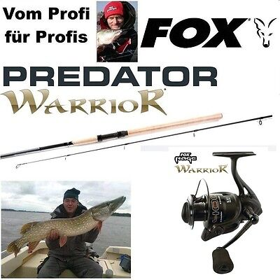 Fox RAGE WARRIOR 4000 + WARRIOR Spin 2,40m Fox Wg: 20-80G