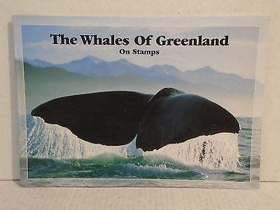 The whales of greenland on stamps philatelic post