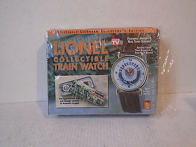 Telebrands lionel collectible train watch as seen on tv with coa