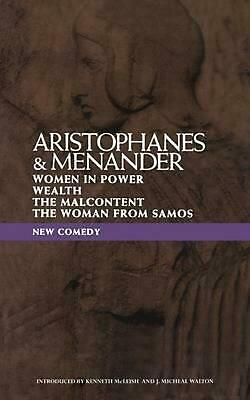 New Comedy: Aristophanes and Menander by Aristophanes (English) Paperback Book F