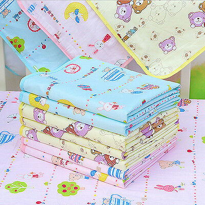 Utility Chic Baby Waterproof Urine Mat Cover Cotton Washable Changing Pad S M