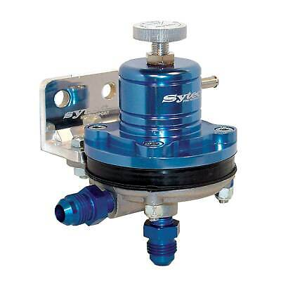 Sytec Motorsport Adjustable Fuel Pressure Regulator Injection 8mm - Blue
