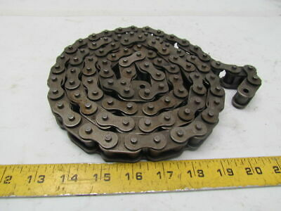 """63SB 70"""" length side row roller chain 3/4"""" pitch 1/2""""roller width"""