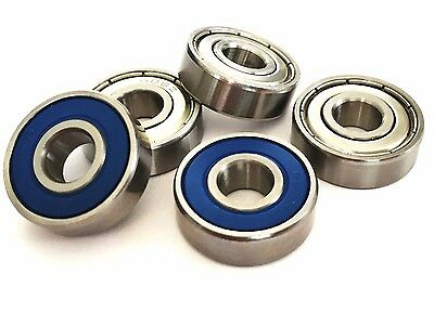 608 [8x22x7] HIGH PERFORMANCE BEARINGS. SELECT CHROME. STAINLESS. HYBRID CERAMIC