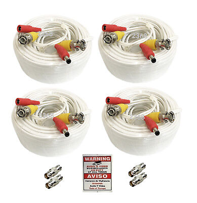 *Premium Quality 4x165Ft Video and Power Cable for Swann HD CCTV Security Camera