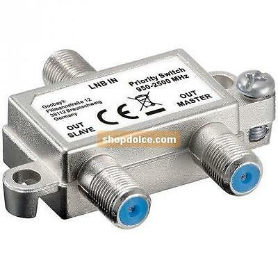 switch satellitare 1 lnb 2 ricevitori box 51445