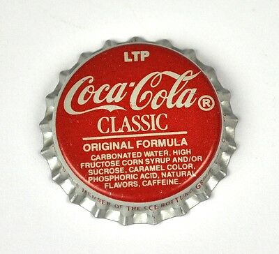 LTP Coca-Cola Coke Classic Kronkorken USA Bottle caps rot