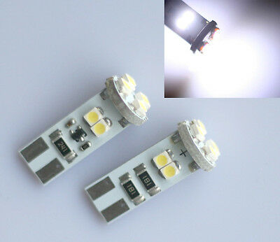 10x T10 8SMD W5W SUPER-STANDLICHT INNENRAUM LED CANBUS XENON-WEIß ULTRA-HELL
