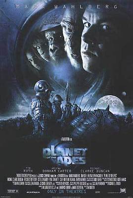 Planet of the Apes Version C Original Movie Poster Double Sided 27x40 inches