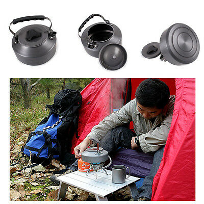 Outdoor Camping Hiking Picnic 1.1L Mini Best aluminum Water Coffee Teapot Kettle