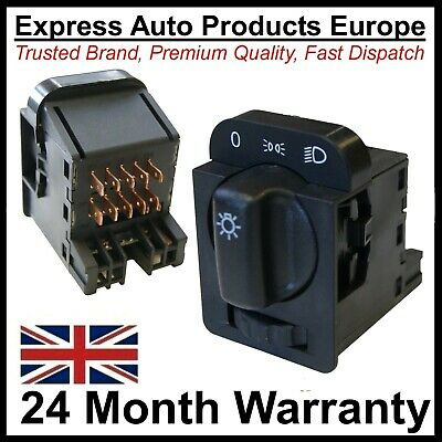Headlamp Headlight Switch & Rheostat VAUXHALL Astra F Corsa B Tigra MK1