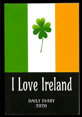 "2020  "" I LOVE IRELAND ""   Daily Diary / Planner    BRAND NEW"