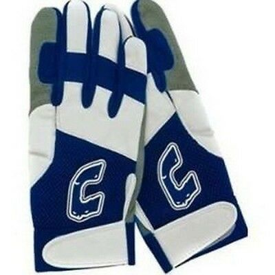 1 Pr Combat Team Combat Ultra Dry Mesh Navy / White Small Adult Batting Gloves