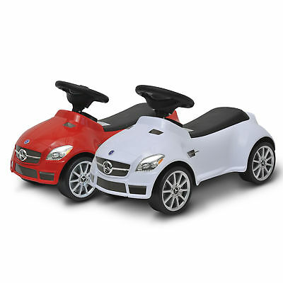 2 Colours Baby Walker Ride On Push Along Car Mercedes SLK 55 AMG Toddler