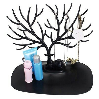 Jewelry Necklace Ring Earring Tree Stand Display Organizer Holder Show Rack A TS