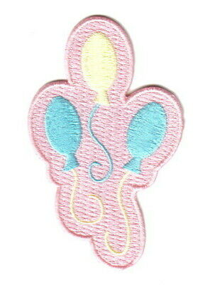 My Little Pony Pinkie Pie Cutie Marks Embroidered Patch, NEW UNUSED