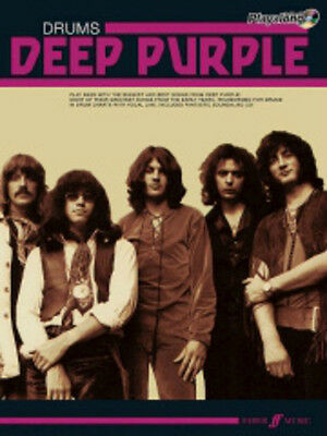 Deep Purple Authentic Drums Playalong/CD, Authentic Playalongs - 571531334