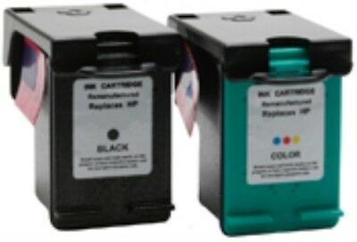 Compatible Black & Colour Text Quality Ink Cartridges for HP Photosmart C4180