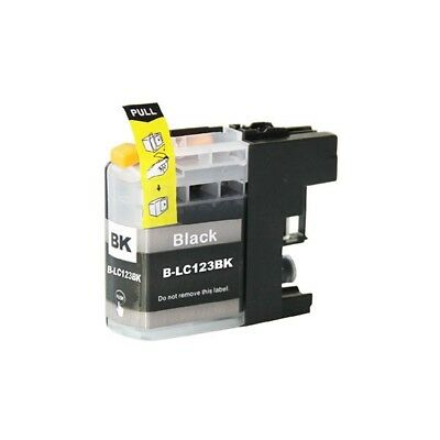 LC123 Compatible Black Ink Cartridge for Brother Printers