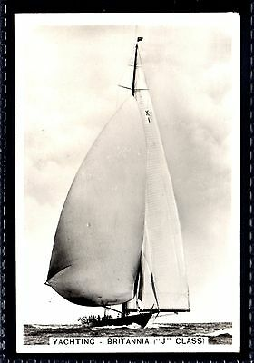 PATTREIOUEX SPORTING EVENTS & STARS No.37 YACHTING-BRITANNIA-THE KING`S CUTTER