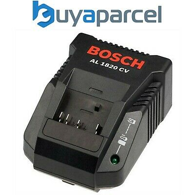 Genuine Bosch 7.2 18v 24v Lithium Ion Battery Charger AL1820CV AL 1820 CV